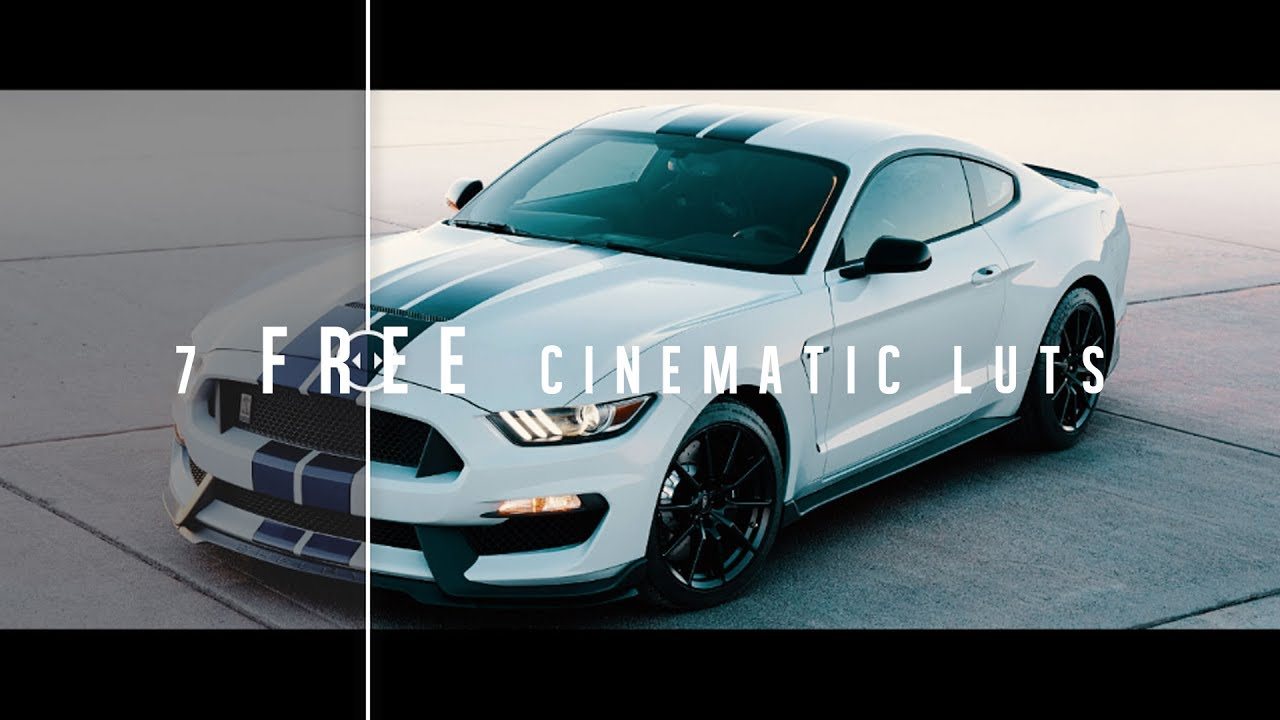 7 FREE Cinematic LUTs | Adobe Premiere Pro + FCPX