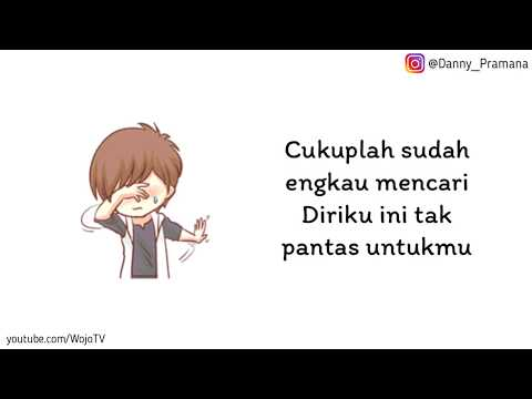 Lirik Ku Ikhlaskan - Reza Re|| Versi Animasi || Kurelakan Engkau Pergi Walau Sesak Dada Ini