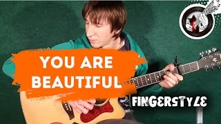James Blunt - You're beautiful - solo guitar (+урок и табы)