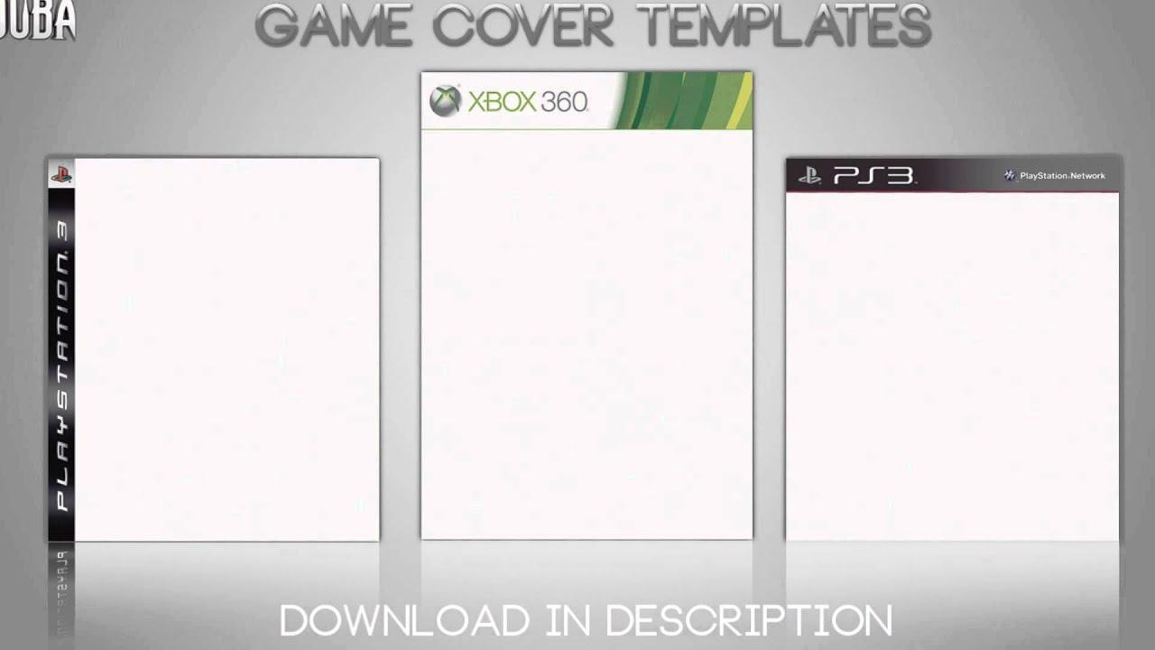 game cover templates game cover templates