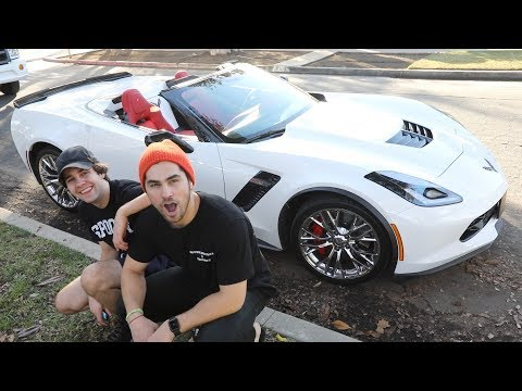 HE STOLE MY BRAND NEW CAR!!