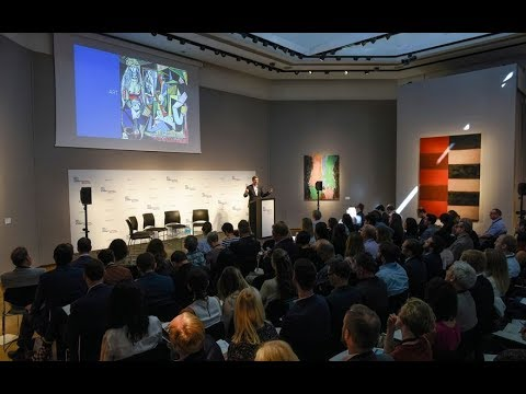 Art + Tech Summit: Exploring Blockchain | Christie's