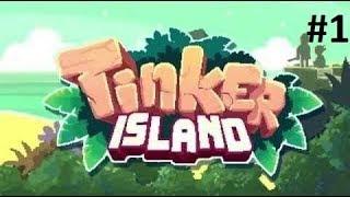 Tinker Island. Прохождение игры, часть 1.