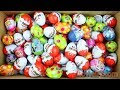 New Surprise Eggs Surprise Kinder Joy For Boys and Girls Unboxing Learn Colors Play Doh For Kids