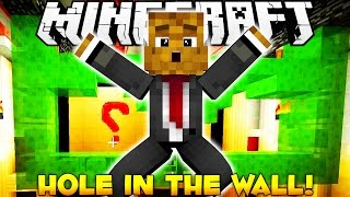 BRAND NEW Minecraft Hole In The Wall Minigame