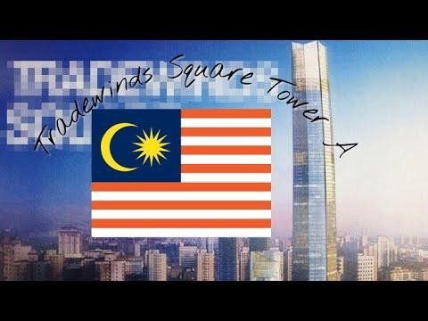 Tradewinds square tower A ( A malaysia tallest skyscraper )