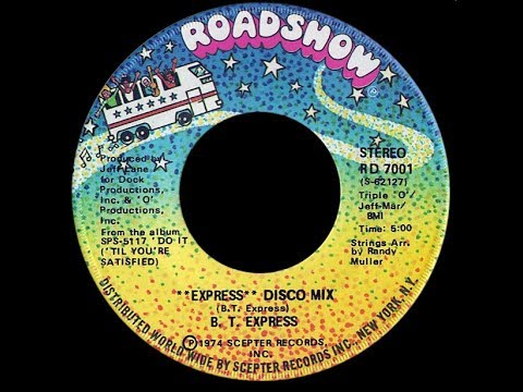 BT Express ft Christopher Walken ~ Express 1975 Disco Purrfection Version