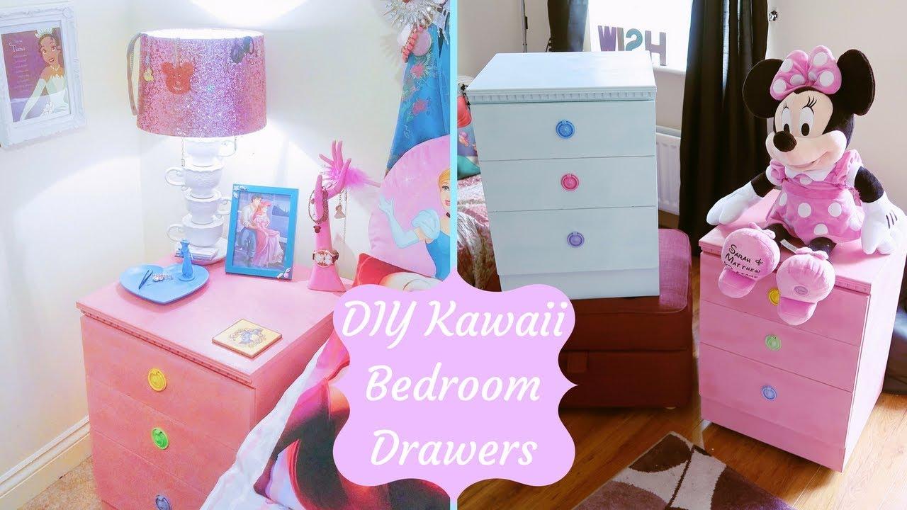 Kawaii Pastel Bedroom Furniture | DIY - YouTube