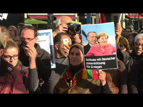 Berlin protests against Erdogan's visit to Germany