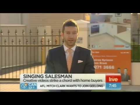 Andrew Kyriacou's live national interview on Sunrise