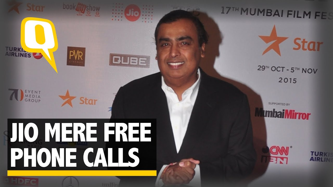 The Quint: Reliance to give free data, voice & video to users till 31 Dec, 2016