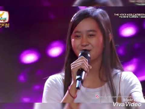 មាននឹកអូនទេបង | Mean nek oun te bong| The voice kid cambodia by Yutaka