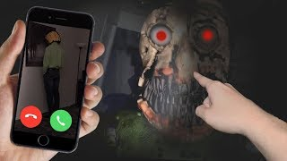 CALLING NIGHTMARE BALDI ON FACETIME AT 3 AM!! (BALDI IS HERE)