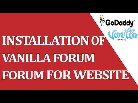 How to installed VANILLA FORUM cms through cpanel ?