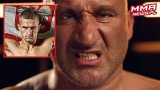 """Najman odpowiedział na groźbę """"gwałtu MMA"""" od Wrzoska"""