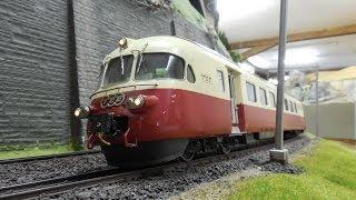 Modellbahn in Brugg - Die Anlage des BMC - Spur 0 Anlage - XXL