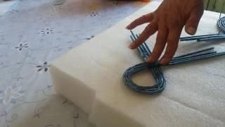 Плетение из газетных трубочек.  Как можно накрутить трубочки для ажурных крышечек