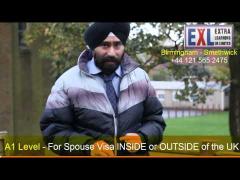B1 English test or A1 English Test for UK Spouse Visa Applications?