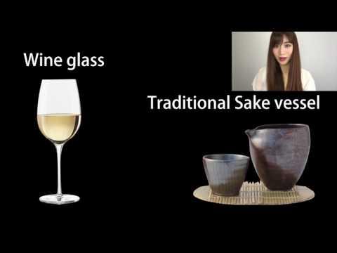 wine glass and Sake ワイングラスで日本酒を楽しむ