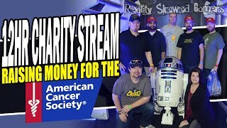 12hr Charity Stream for the American Cancer Society!!!!