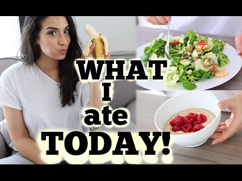 WHAT I ATE TODAY!