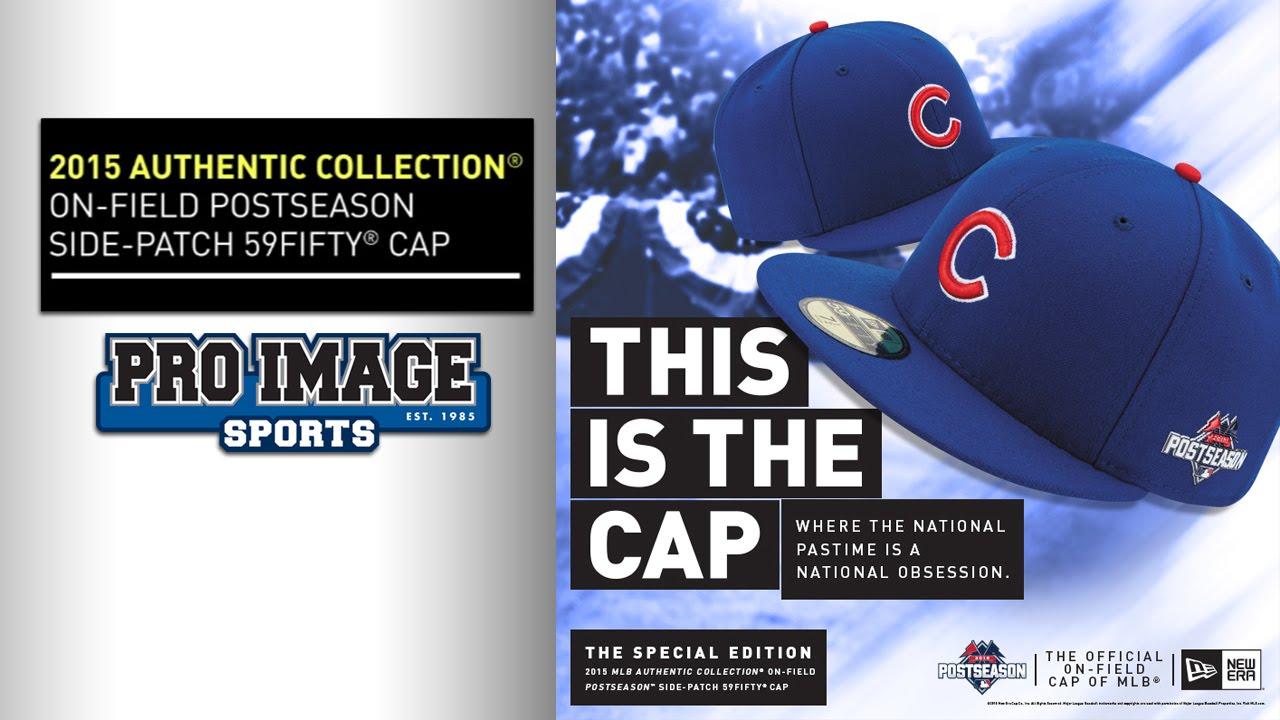 MLB 2015 Official Postseason Hats by New Era Cap - YouTube b55c457f0b3