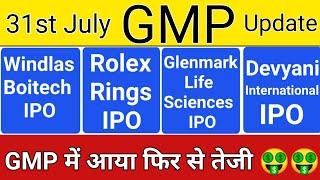 GLENMARK LIFE SCIENCES IPO • ROLEX RING IPO • WINDLAS BOITECH IPO • DEVYANI INTERNATIONAL IPO • IPO
