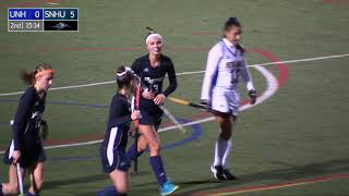 Highlights: @SNHU_FH Blanks New Haven to Clinch First Ever NE10 Championship Berth thumbnail