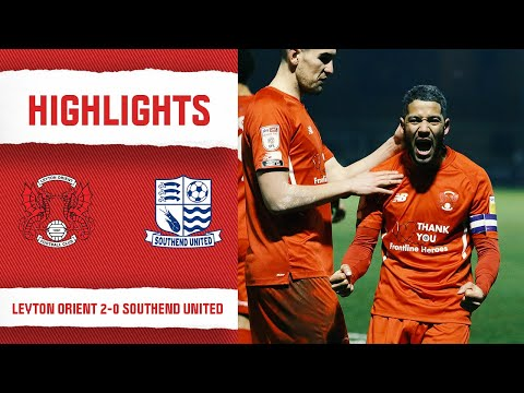 Leyton Orient Southend Goals And Highlights