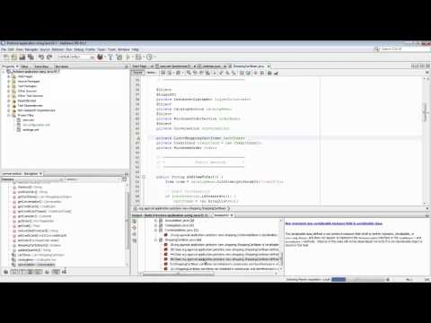 how to create website in netbeans