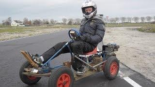 Skelter met motor 40 km/uur