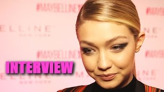 Gigi Hadid Talks Starring In Taylor Swift Bad Blood Music Video
