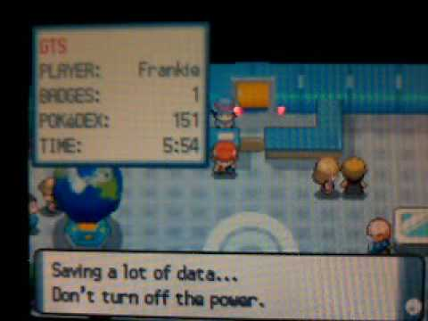 pokemon platinum how to catch darkrai without cheating
