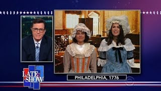 An 'Herstoric' Achievement 240 Years In The Making by : The Late Show with Stephen Colbert