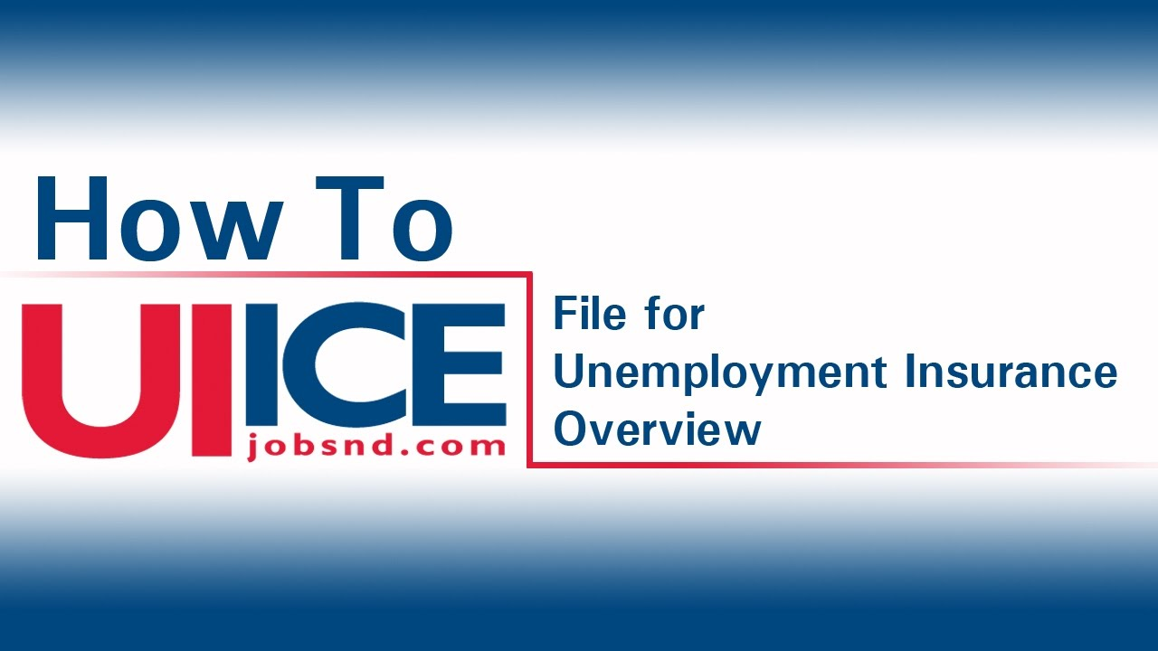 Ui ice overview how to file for unemployment insurance in north ui ice overview how to file for unemployment insurance in north dakota xflitez Gallery