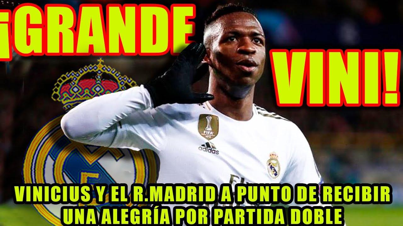 Download ¡GRANDE VINI! | VINICIUS Y EL R.MADRID A PUNTO DE RECIBIR UNA ALEGRÍA POR PARTIDA DOBLE