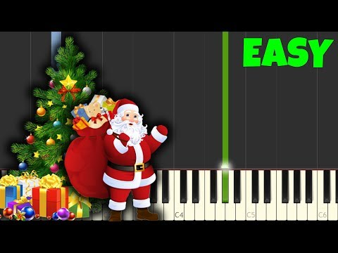 Jingle Bells Easy Piano Tutorial Sheet MusicSynthesiaPiano