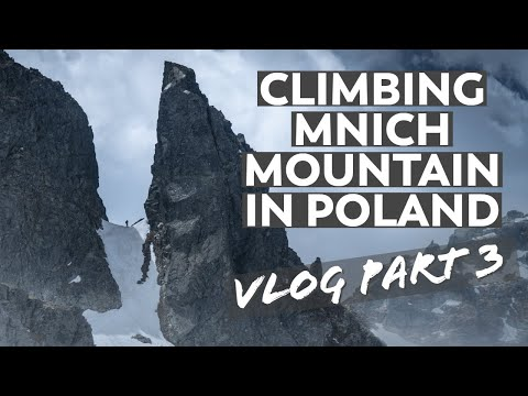 Climbing Mnich Mountain In Poland's Tatra Mountains | VLOG Part 3