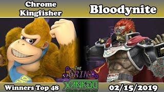 The Grind 64 Chrome Kingfisher (Donkey Kong) vs Bloodynite (Ganondorf) Winners Top 48