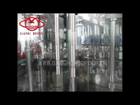 Ganghong Packaging Factory Supply Sauce Station Type Piston ...
