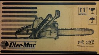 Обзор бензопилы Oleo-Mac GS 44
