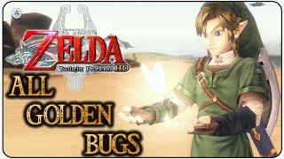 The Legend of Zelda Twilight Princess HD All Golden Bugs
