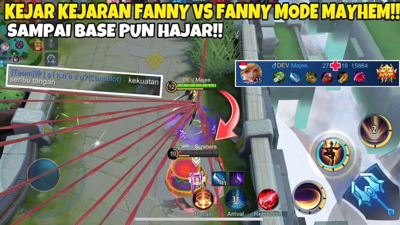 KEJAR KEJARAN FANNY vs FANNY MODE MAYHEM SAMPAI BASE PUN HAJAR!!