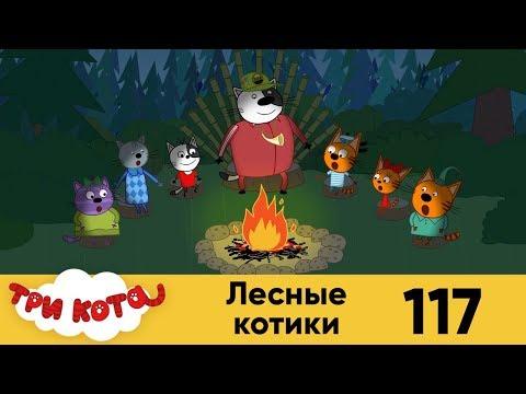 Три кота | Серия 117 | Лесные котики