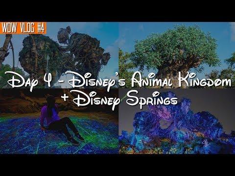 Walt Disney World Vlog: Day 4 - Disney's Animal Kingdom + Disney Springs | October 2017