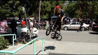 BMX - MASSIVE EAST LA STREET RIDE