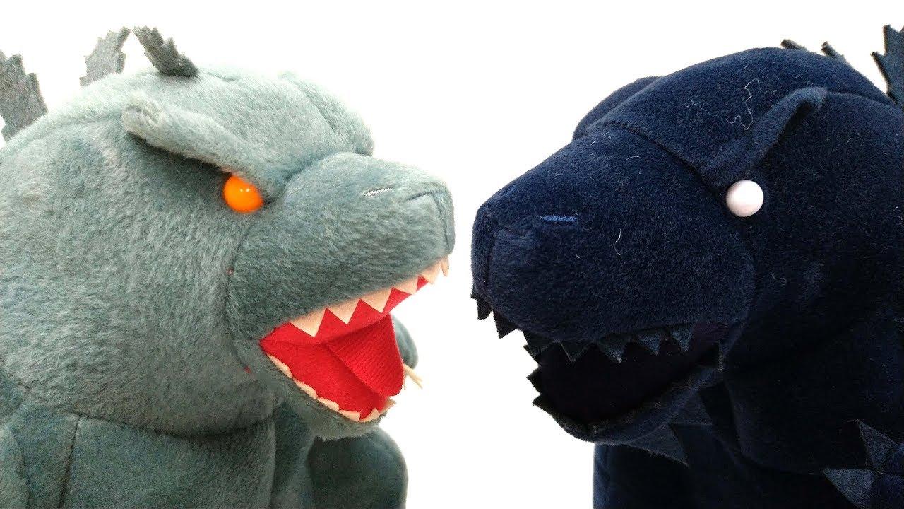 Ty Puppies Stuffed Animals, Godzilla 2019 Mega Jumbo Plush Doll Sega King Of The Monsters Youtube