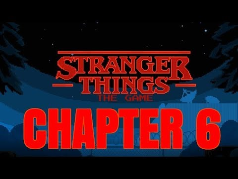 STRANGER THINGS THE GAME Android / iOS Gameplay Trailer | Chapter 6 Ending