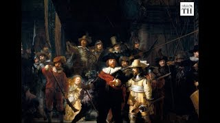 Rembrandt's Night Watch undergoes live restoration