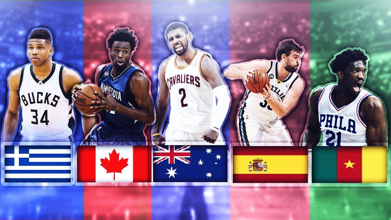 BEST NBA PLAYER FROM EACH COUNTRY - YouTube
